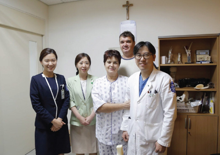 International St. Mary's Hospital performed free surgery for Russian patient.